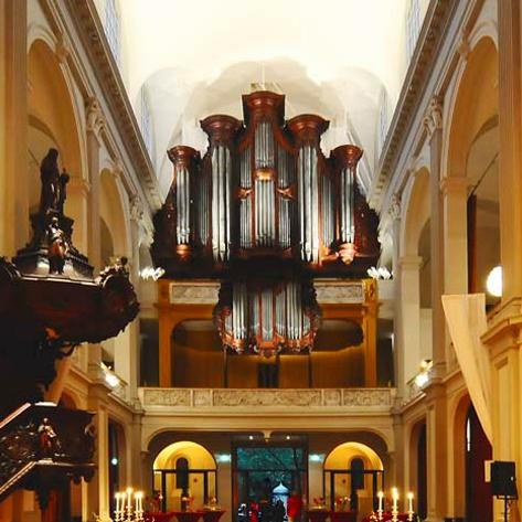 De Duif Leeuwarden.Internationale Orgelserie Op Smits Orgel De Duif