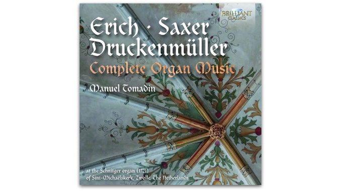 erich saxer druckenmüller complete organ music 95284