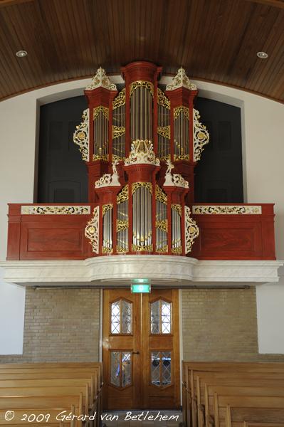 orgel ichthuskerk (het bolwerk) hasselt