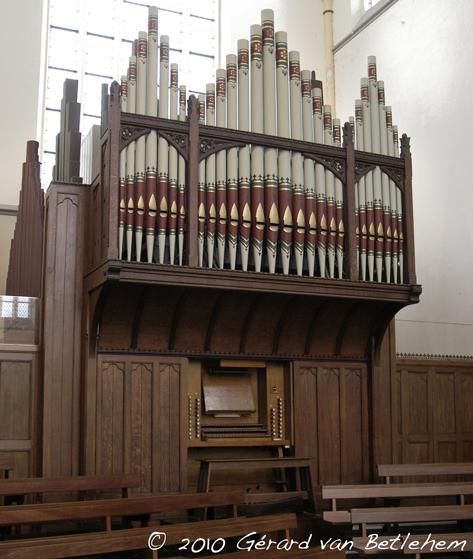 Nicholson orgel Christophoruskerk Schagen