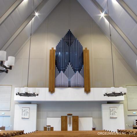 orgel petrakerk ede