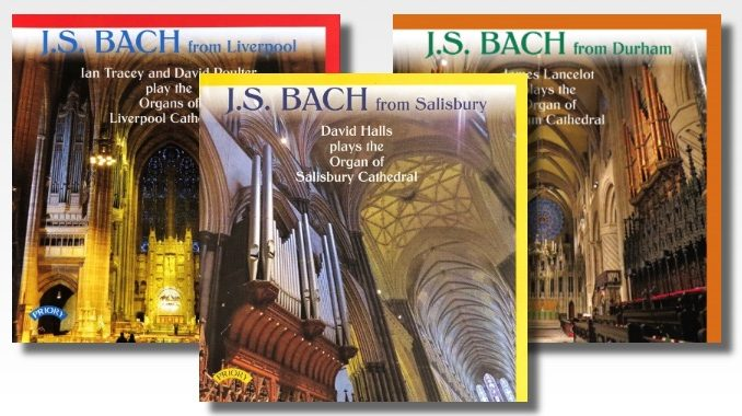 j s bach from liverpool salisbury durham