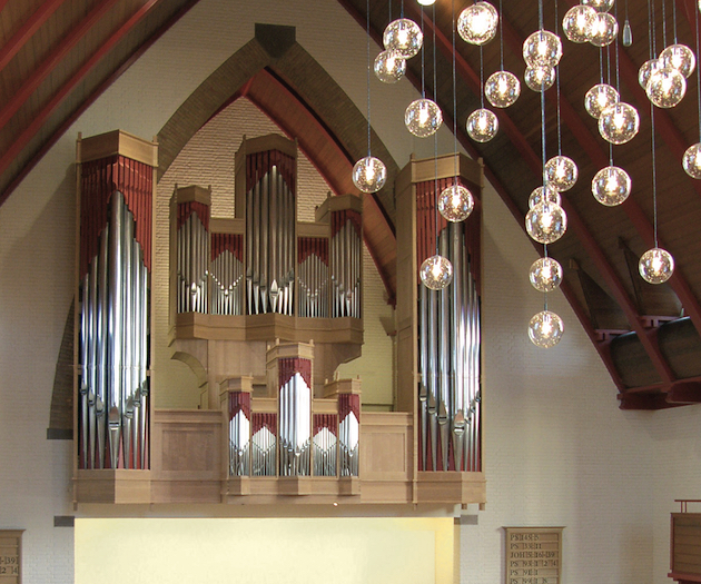 orgel julianakerk dordrecht