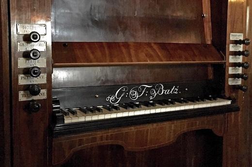 klavier Bätz-orgel Kasteel Amerongen