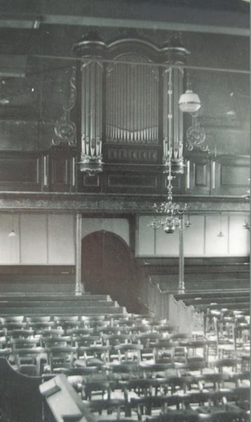 kockengen hervormde kerk van dam-orgel