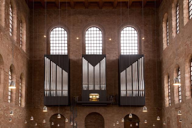 konstantin basilika trier eule orgel