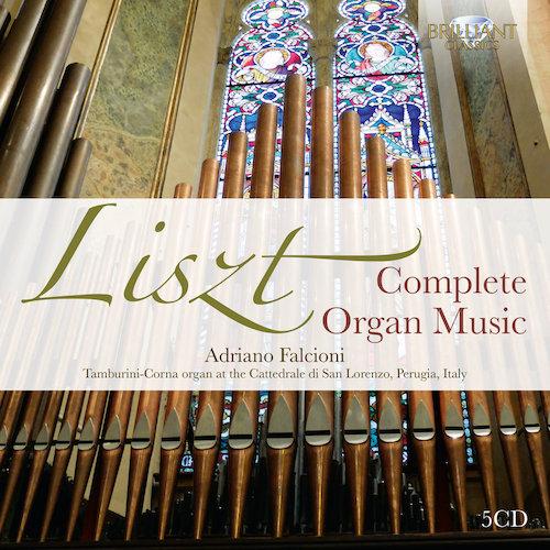 liszt complete organ music adriano falcioni