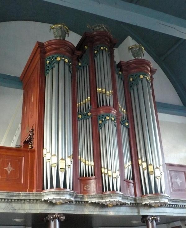 lohman orgel hervormde kerk heinenoord