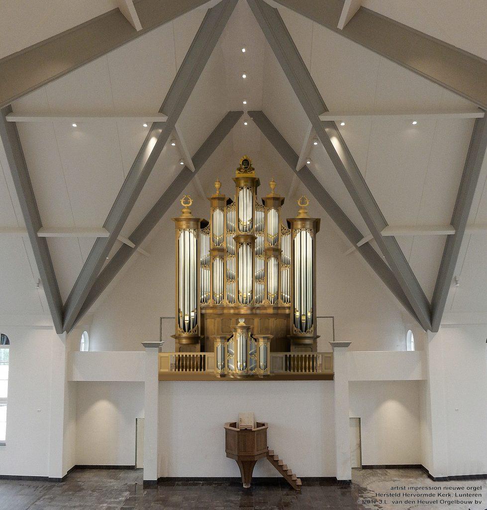 Van den Heuvel krijgt opdracht nieuw drieklaviers orgel