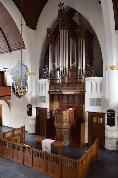 orgel Adriaen Janszkerk Rotterdam-IJsselmonde