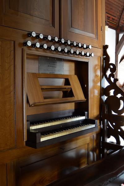 orgel Adriaen Janszkerk IJsselmonde