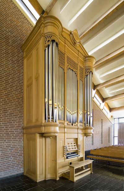 orgel Meentkerk Huizen