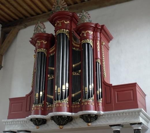 orgel oude kerk ermelo
