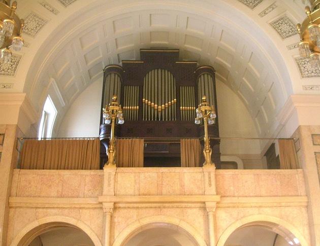 orgel burgerzaal stadhuis rotterdam