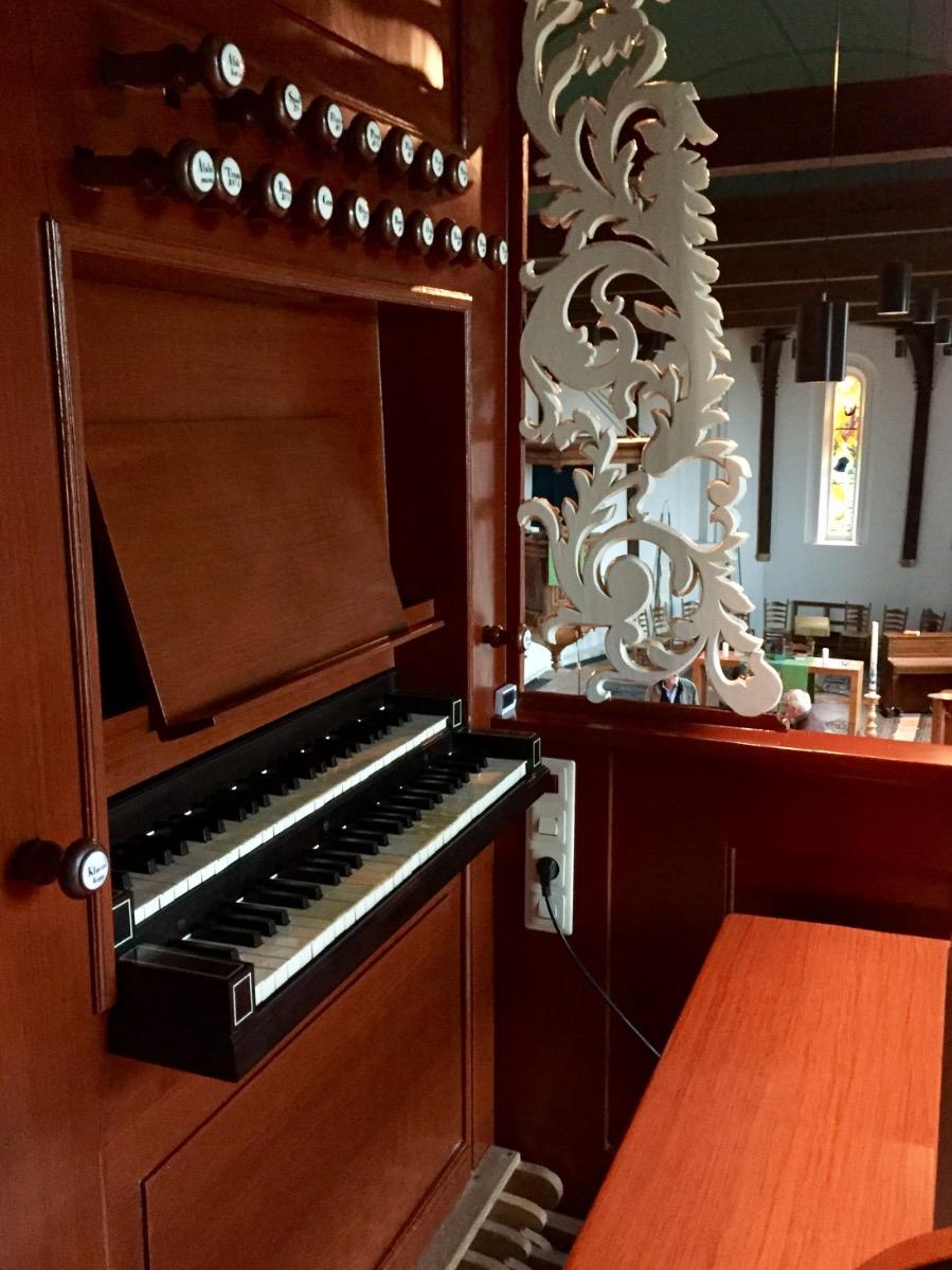 klaviatuur orgel deinum