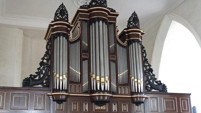orgel grote kerk groede