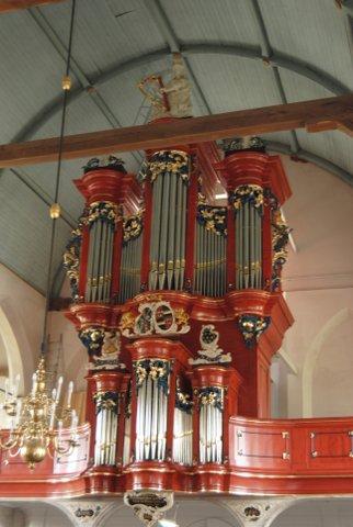 orgel hervormde kerk waspik