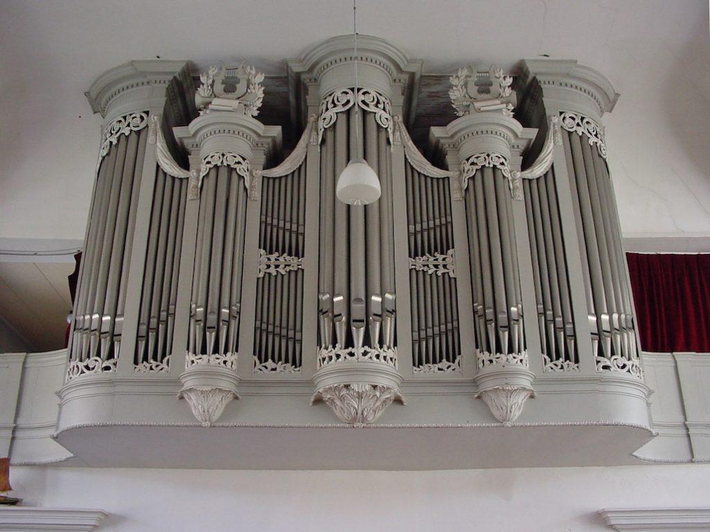 orgel karmelkerk woudsend