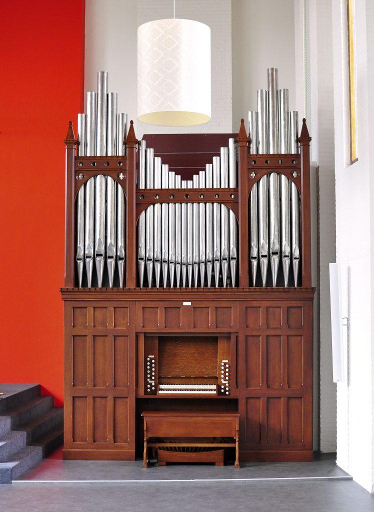 porritt orgel columnakerk groningen