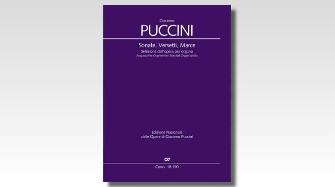 puccini organ works