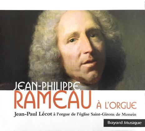 rameau a l'orgue jean-paul lécot bayard musique 308 442.2