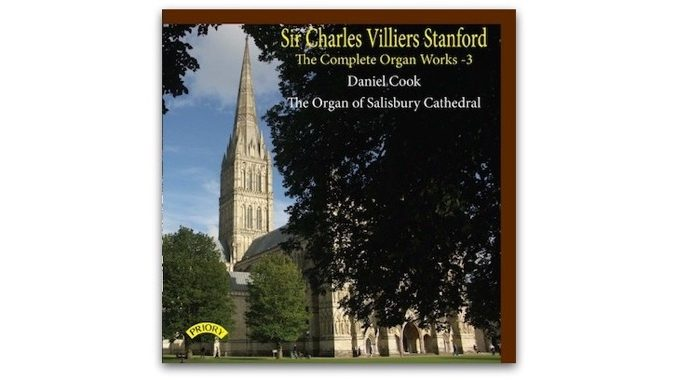 cd stanford complete organ works 3 daniel cook prcd 1146