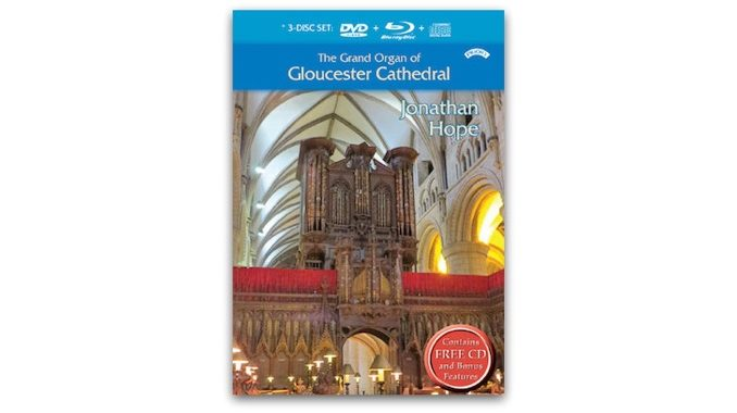 the grand organ of gloucester cathedral prdvd14