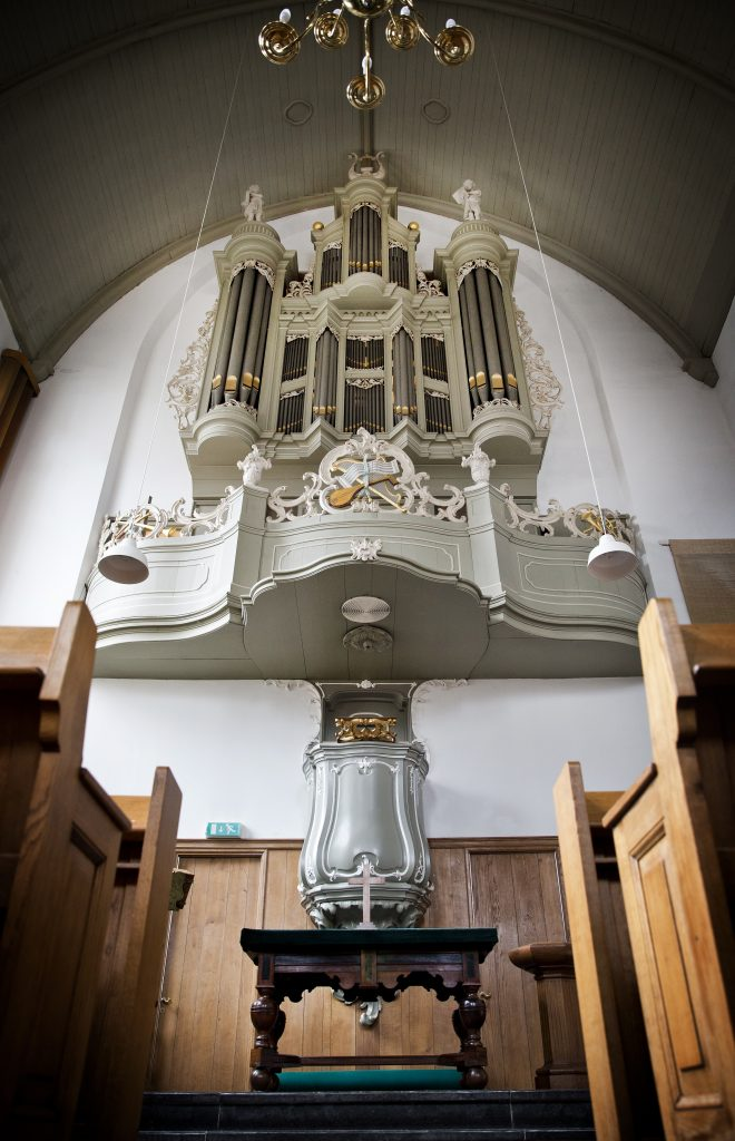 orgel lutherse kerk delft