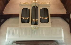 Witte-orgel voor protestantse Catharinakerk Zoutelande