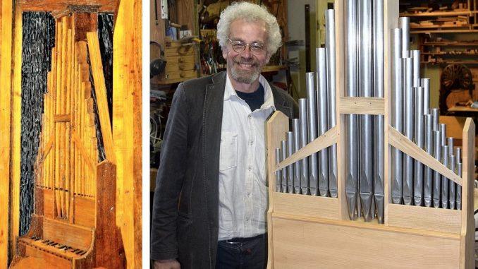 winold van der putten reconstructie 15-eeuws orgel bologna