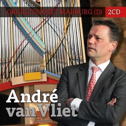 André van Vliet Orgelconcert Marburg