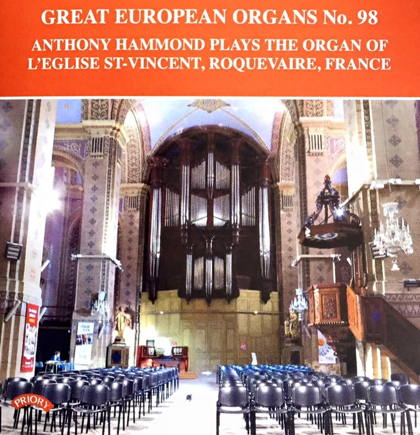 anthony hammond great european organs 98