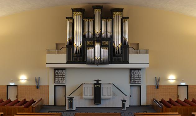 ide boogaard orgel gereformeerde gemeente barneveld centrum
