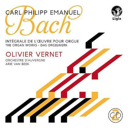 carl philipp emanuel bach complete organ works olivier vernet