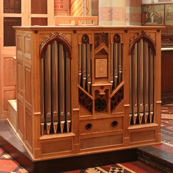 Den Haag St. Jacobuskerk altaarorgel