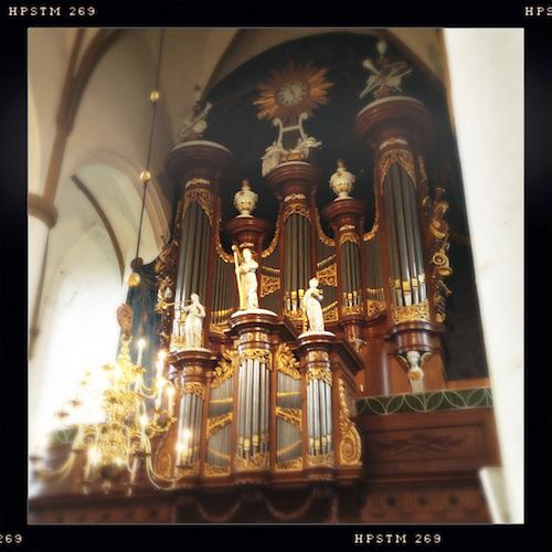 orgel grote of sint-nicolaaskerk elburg