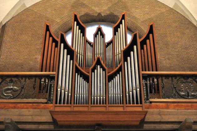 Flentrop-orgel St. Barbarakerk Bunnik