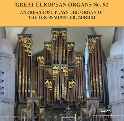 great european organs 92 grossmünster zürich prcd 1109