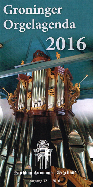 Groninger Orgelagenda 2016