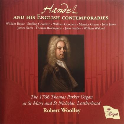 Handel and his English contemporaries REGCD382