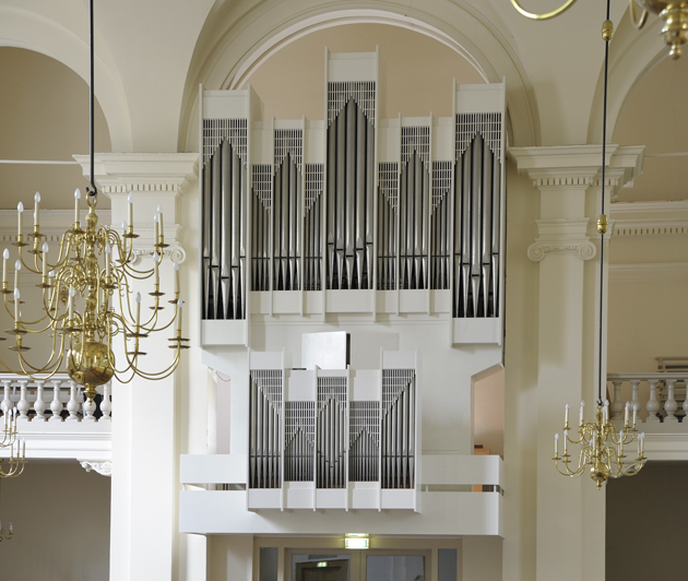 Van Vulpen-orgel Hoflaankerk Rotterdam