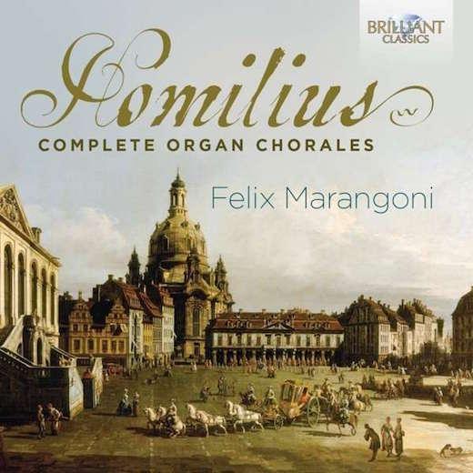 Homilius Complete Organ Chorales 94458