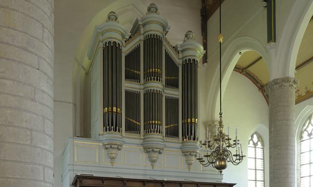 Orgel hervormde kerk kapelle