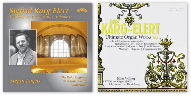 karg-elert organ works