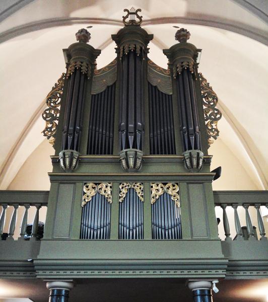 smits-orgel kerk van kekerdom