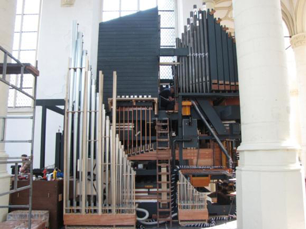 willis orgel hooglandse kerk leiden