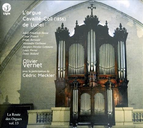L'orgue cavaillé-coll (1856) de lunel olivier vernet Lidi 0104288-15