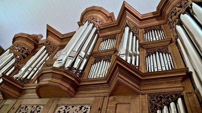 front schnitger orgel lutherse kerk groningen