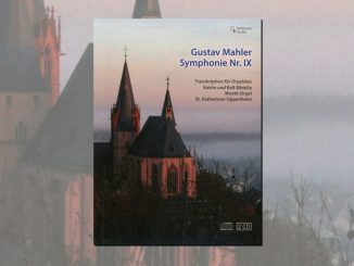 cd gustav mahler symphonie IX orgel