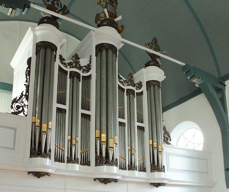 orgel dorpskerk huizum